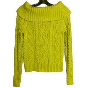 Polo Ralph Lauren Bright Lemon Yellow Knit Sweater